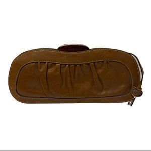 Fifty Four Fossil Audra Leather Clutch Purse